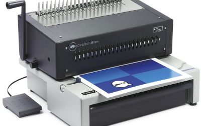 Encadernadora Profissional Alta Robustez C800 PRO