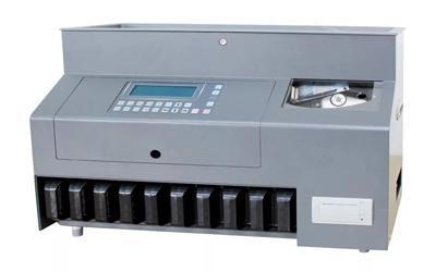Maquina de Contar e Separar Moedas CS910
